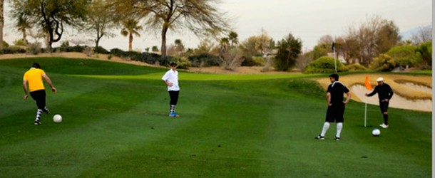 Foot Golf Could Kick Golfers Off the Course