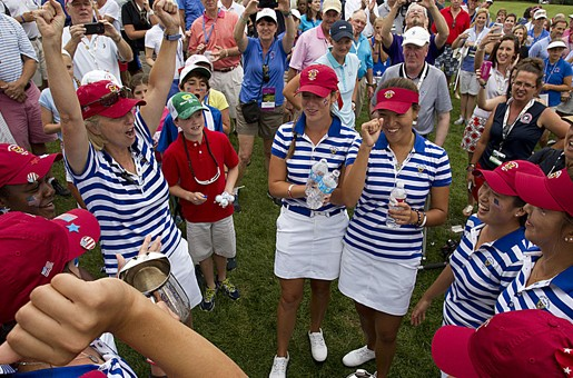 Port and Pictor Share First-Round Lead at U.S. Senior Women's Amateur
