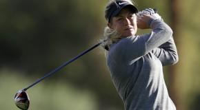 Suzann Pettersen Shares Lead at Kraft Nabisco