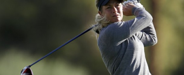 Suzann Pettersen Shares Lead at Kraft Nabisco